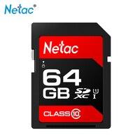 NetacSD Card UHS I P600 64GB Class10 U1 Memory Card C10 80MB/s Chinese red