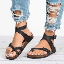 Flat Sandals Woman Gladiator Beach Shoes