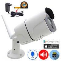 JIenuo IP Camera Wifi 1080P 960P 720P 3 Meter Power Adapter Outdoor CCTV Security Surveillance Wireless IPCam Audio Onvif HD Cam