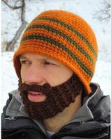 2016 kreatywny funny beard octopus hat knitting hat czapka z wełny zimowe ręcznie 7 kolory dostępne