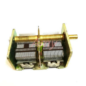 Image 1 - New people made 246 type 2*460PF radio dual variable capacitor