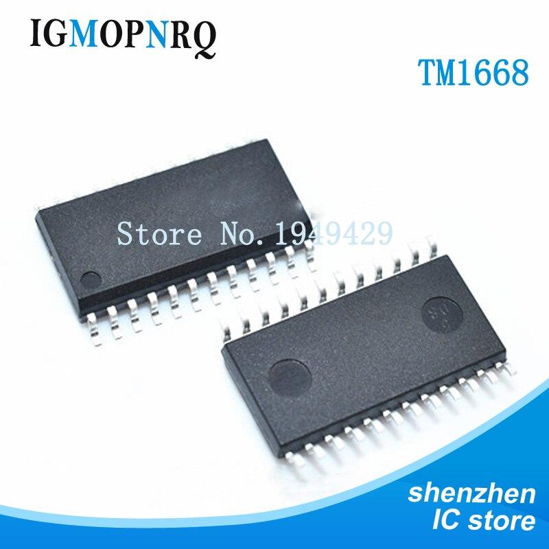 5pcs//lot TM1668 SOP-24 New Original IC in Stock