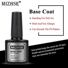MIZHSE Base Coat Gel Nail Polish 10ml Nail Art Manicure Care Lacquer For Gellak UV LEND Based Coat Primer Salon Home DIY(China)