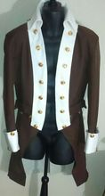 Colonial Hamilton Military cosplay Costume Revolutionary War Alexander George Washington uniform costume jacket