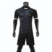 NEW Men Soccer Jersey Sets Adult Futbol Training Uniforms Set Survetement Football Kits Teenagers Maillot De