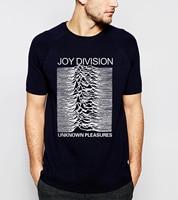 2016 Summer Joy Division Unknown Pleasure Men T Shirt 100 Cotton High Quality Plus Size Short