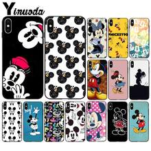 Yinuoda Mickey Mouse Luxury Unique Design Phone Cover for Apple iPhone 8 7 6 6S Plus X XS MAX 5 5S SE XR Mobile Cases(China)