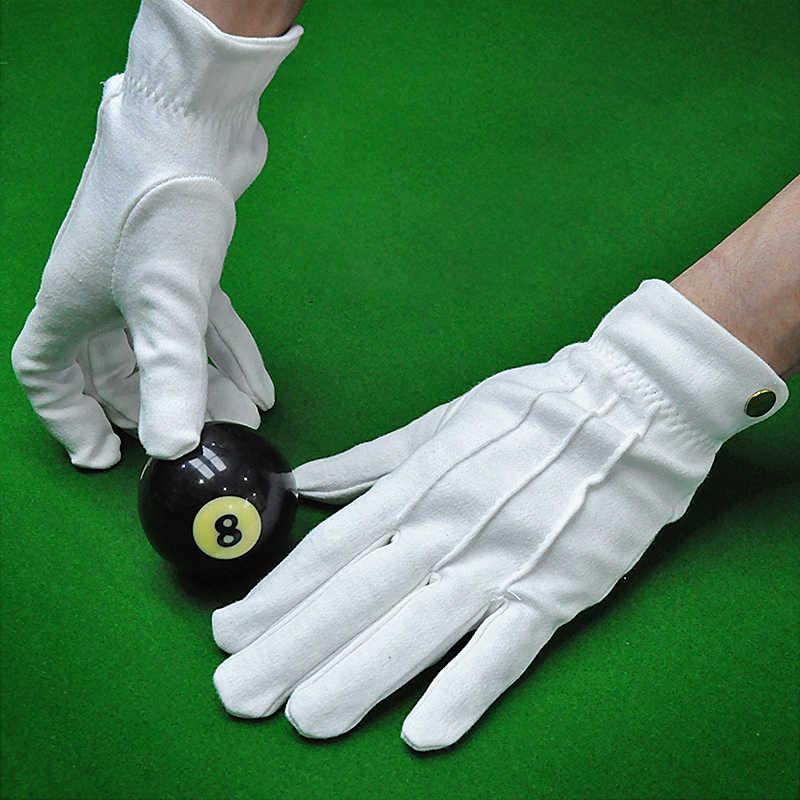 Pool Billard Schiedsrichter Handschuhe Weiß 1 Paar Professionelle Snooker