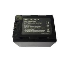 BP420E lithium batteries BP420 Digital Camera Battery BP 420E For SAMSUNG SMX-F44 SMX-F40 HMX-H200 HMX-H205 HMX-S10