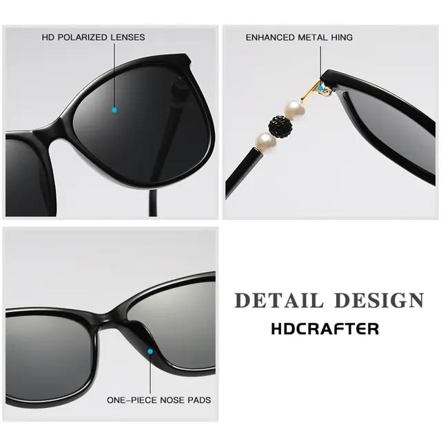 2019 New Women Polarized Sunglasses Luxury Fashion Cat Eye Ladies Vintage Brand Designer Female Sun Glasses oculos gafas