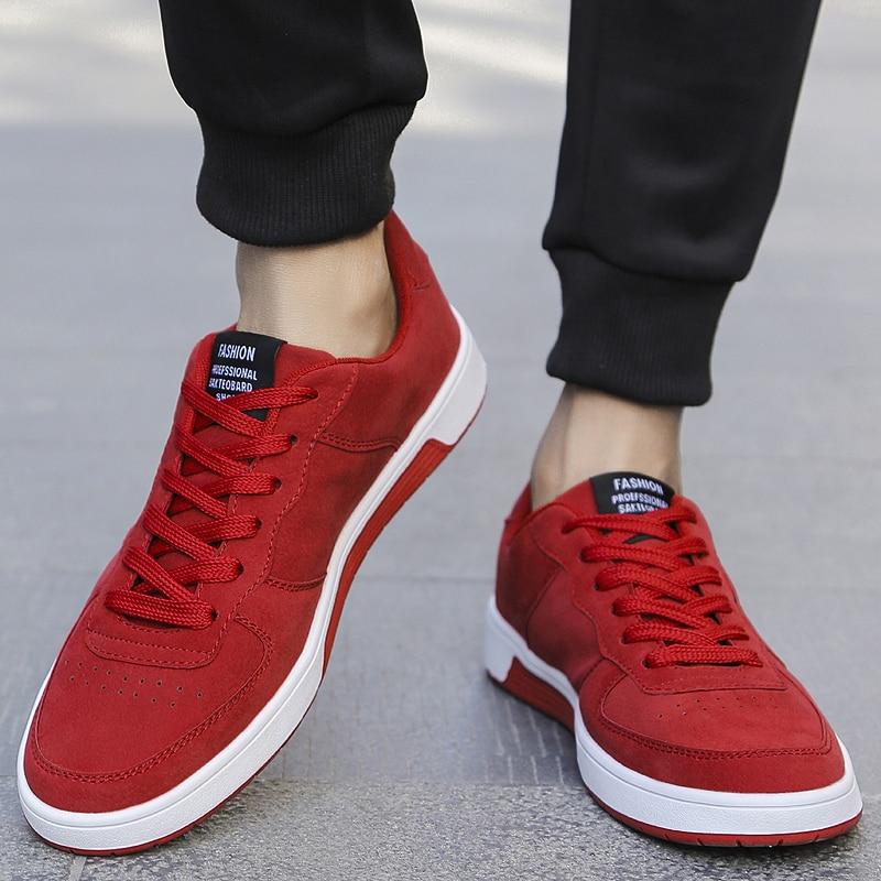 Lumière Belle Hommes Respirant Classique Footwears Mode Noir Adulte Occasionnels Pop De Marque Sneakers rouge Chaussures Pour Mâle khaki gris Confortables zzgrqfRnw