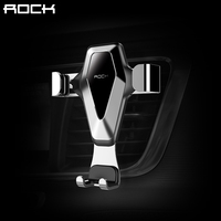 Gravity Car Phone Holder ROCK Universal Mobile Phone Holder Stand Mount Pop Air Vent For Iphone