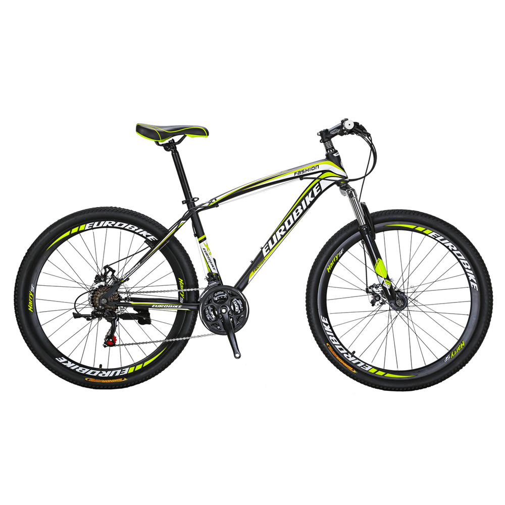 Montagne Vélo X1 27.5 pouce Bicyle 21 Vitesse Double Disque De Frein De Vélo