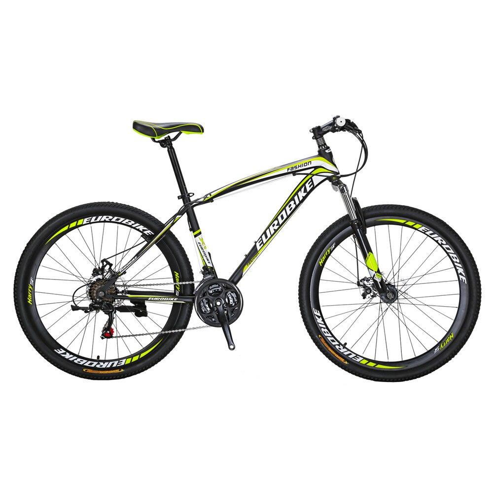 Mountain Bike X1 27 5 Inch Bicyle 21 Speed Dual Disc Brake Bike