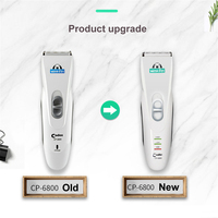 Professional Codos CP 6800 Pet Hair Clipper Dog Hair Trimmer Dogs Electric Hair Shaver Silver Rechargeable Dog Grooming Clipper