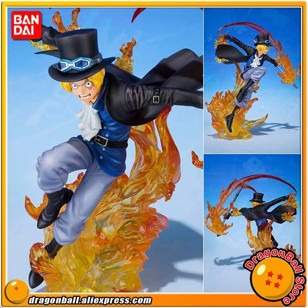 Japan Anime ONE PIECE Original BANDAI Tamashii Nations Figuarts ZERO Collection Figure - Sabo -Hiken- japan anime one piece 100% original bandai tamashii nations figuarts zero toy figure sabo 5th anniversary edition