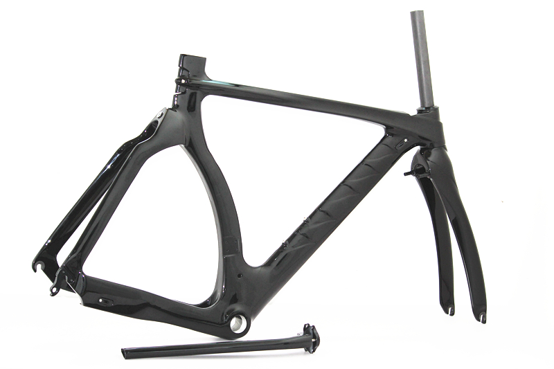 Super light carbon tt road bicycle frame Carbon Time Trial Road Bike Frame 700C V brake
