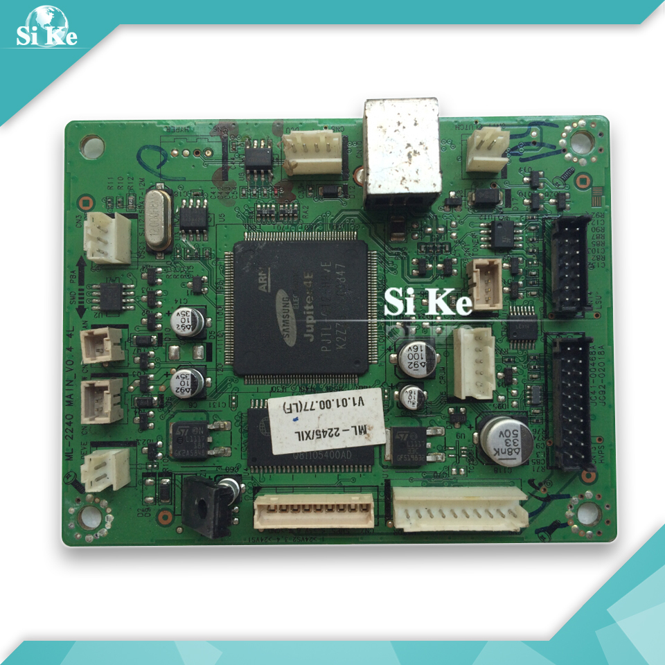 Free shipping 100% tested main board for Samsung ML-2245 ML2245 ML 2245 JC92--02018A on sale epia ml8000ag epia ml 8000ag epia ml rev a industrial board 17 17 well tested working good