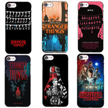 Phone case Stranger Things Christmas Lights Hard plastic Cover for iPhone 5S 5 SE 6 6S 6Plus 7 7Plus 8 8Plus X Back Cover Fundas