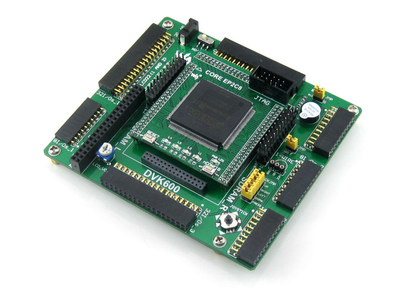 Parts Altera Cyclone Board EP2C8Q208C8N EP2C8 ALTERA Cyclone II FPGA Development Evaluation Board Kit All I/Os=OpenEP2C8-C Stand xilinx fpga development board xilinx spartan 3e xc3s500e evaluation kit dvk600 xc3s500e core kit open3s500e standard
