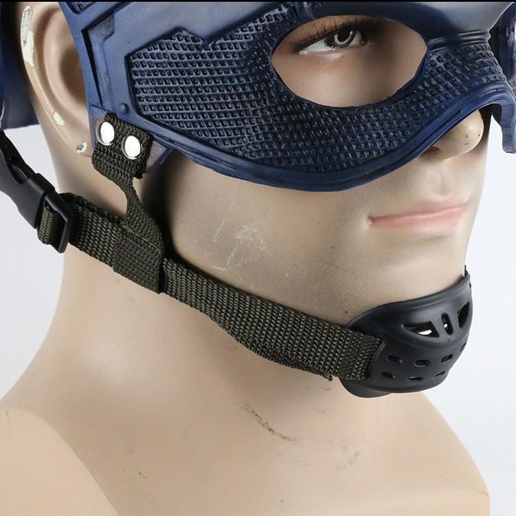 2016 Movie Superhero Helmet Captain America Civil War Helmet Mask Cosplay Steven Rogers Halloween Helmet For Collection22