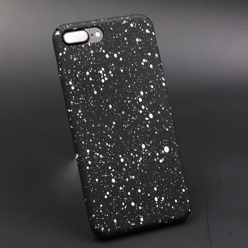 Ultra Thin Star Case For Iphone 6 6S 5S SE 7 7Plus  Phone Cases Protective Hard PC Cover For Iphone 8 8Plus X Coque Funda