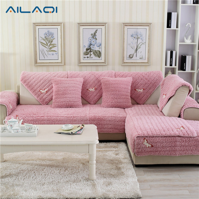 AILAQI Combination Seat Sofa Covers Protector Plush Eco Friendly ...