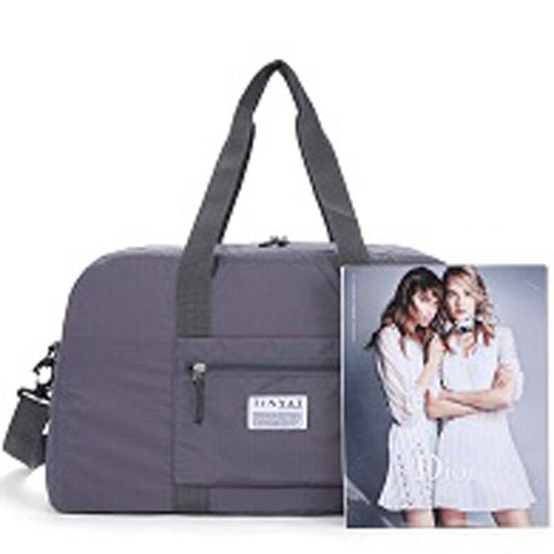Роскошные складная дорожная сумка для обуви сумки нейлон девушка персональный органайзер полиэстер коробки и ящики одежда сумка с SH