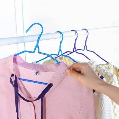 Adult clothes hanger hanging clothes hanger hook household clothes hanger clothes rack anti skid airing hanger 40*20cm