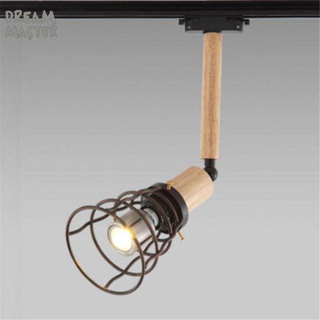 Retro 10w Led Track Light Edison Bulb E27 Adjule Vintage Lighting Clothing