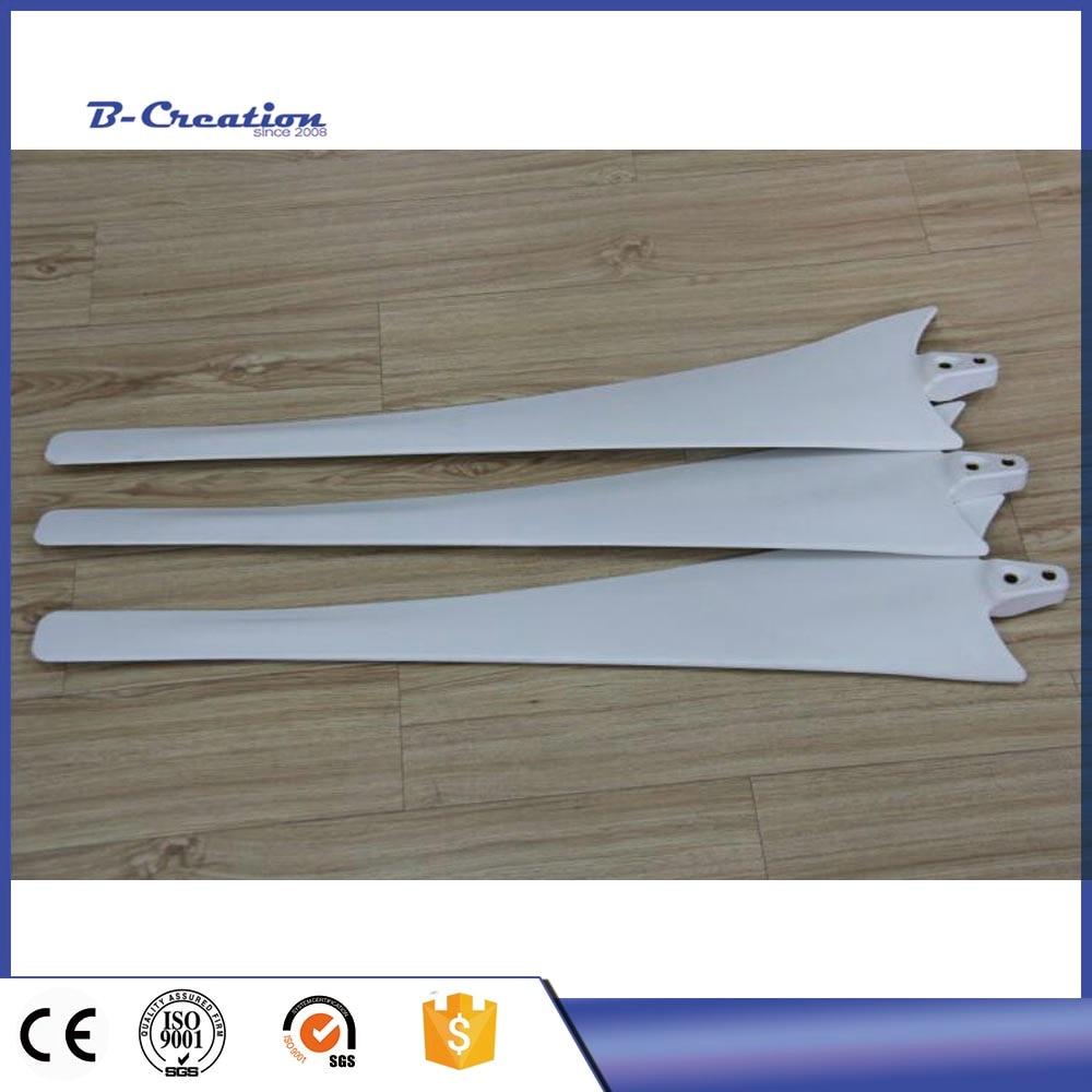 800mm Nylon Fiber White blade for DIY The 500w/600w/700w horizontal axis wind turbine/wind generator