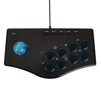 USB Fighting Stick Arcade Joystick Gamepad Rocker Controller For PS3 PC For Android Plug And