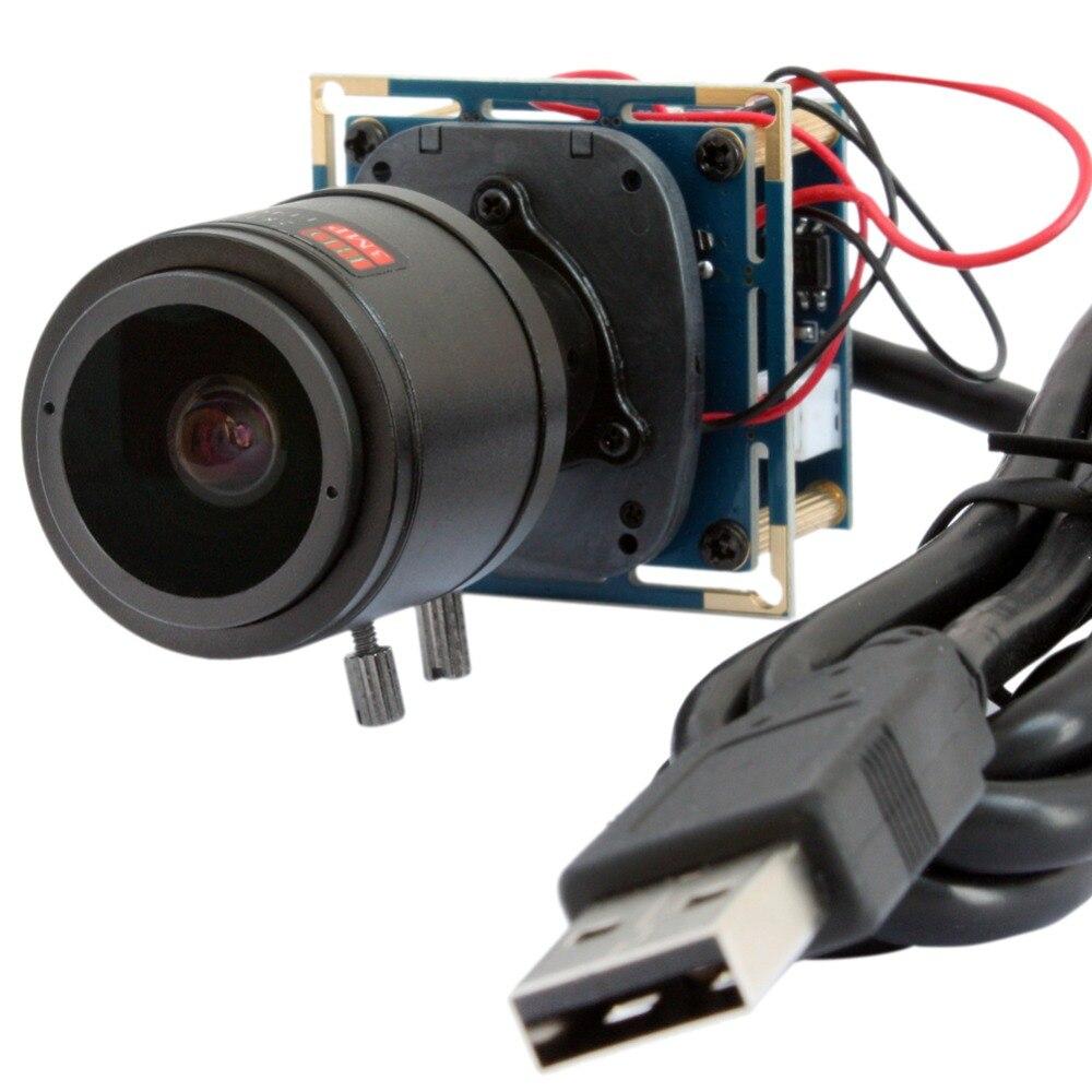1920 * 1080P 30/60/120fps hd cmos OV2710 2.8 - 12 мм варифокальный объектив IR CUT usb модуль камеры видеонаблюдения медицинская камера плата для андроид, Linux,Windows