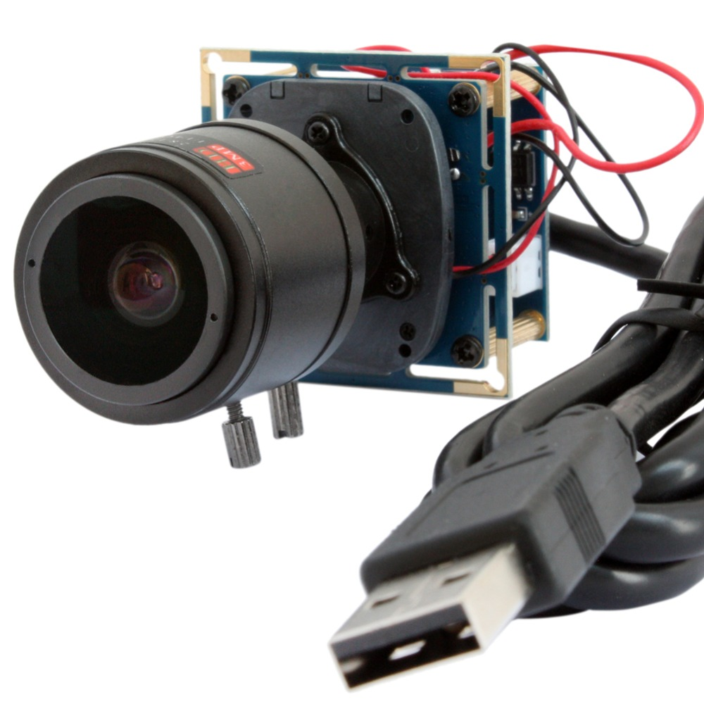 1920*1080p 30fps/60fps/120fps HD Cmos OV2710 2.8-12mm Varifocal lens CCTV Mini board usb camera module for android,linux,Windows