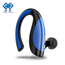 Wholesale Earphone Bluetooth Wireless Sport Waterproof Driving Headset Handsfree With Microphone Ear Hook Stereo Noise Canceling Headphone