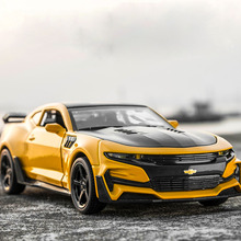 1 32 chevrole Camaro Alloy Diecast Car Models KIDAMI Pull Back Collection Toy Cars for children