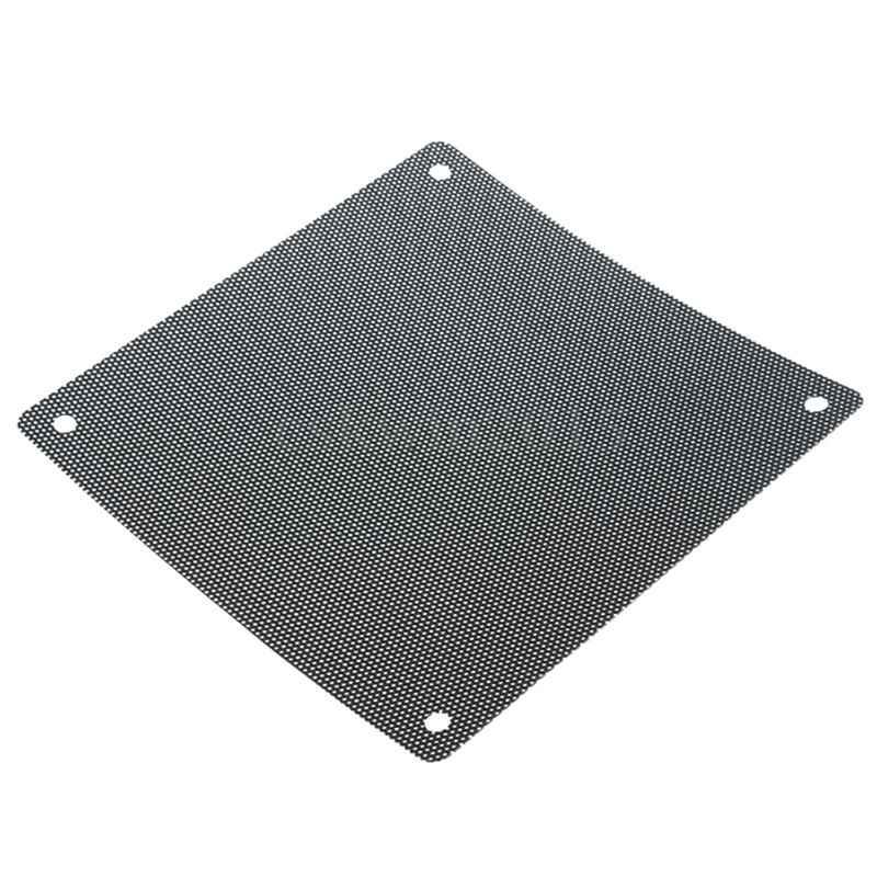Черный ПК Вентилятор ПВХ Пылезащитный фильтр редуктор пылезащитный компьютер Крышка кулера сетка защитный инструмент