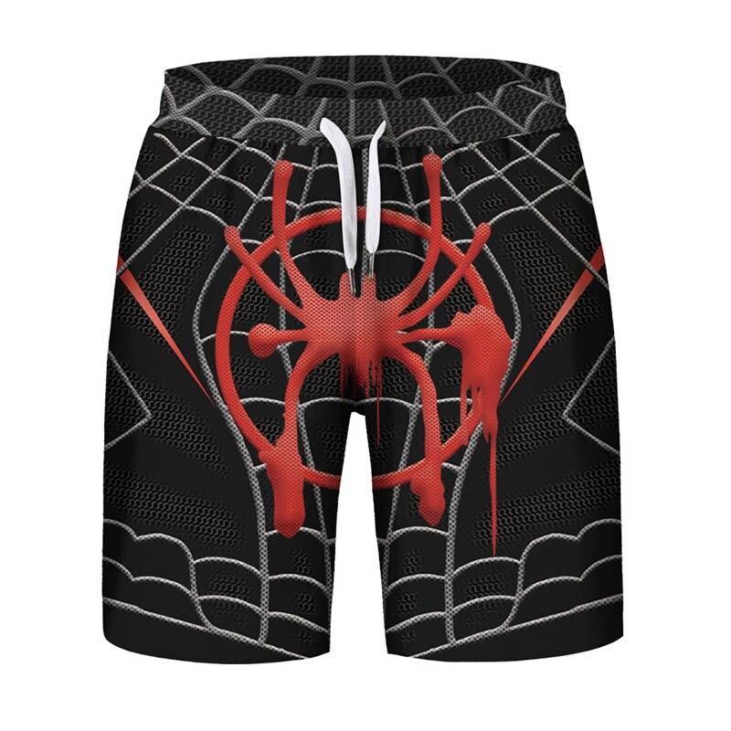 Good Venom Spider Print Men Men's Brand Modis Fitness Beach Swiming Summer 2019 Sweatshorts Hipster Shorts To Suit The People'S Convenience