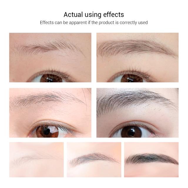 LANBENA Eyebrow Growth Serum Longer Fuller Thicker Nourishes Eyebrow Enhancer Eyelash Fast Powerful Hair Growth Make Up Beauty Face Care Serum