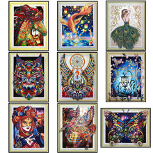 5D special diamond embroidery, diy paint, rhinestone painting,  shaped s, animal, owl painting