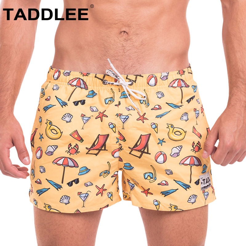 Men's Clothing Sensible Taddlee Brand Mens Casual Board Beach Shorts Trunks Man Jogger Bermduas Short Bottoms Quick Dry Men Boxers Swimwear Swimsuits 100% Original