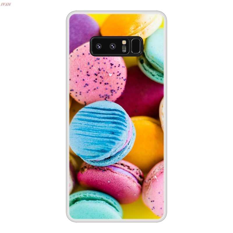 Case untuk Samsung Galaxy Note 8 TPU Silikon Lembut Desain Keren Bermotif Lukisan Ponsel Cover UNTUK Samsung Note8 Case Cover