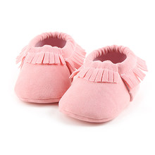 2019 Spring/ Summer Cotton Fabric Lace-up Shallow Soft Sole Prewalkers Baby Girl & Boy Shoes For 0-18 Month Wholesale(China)