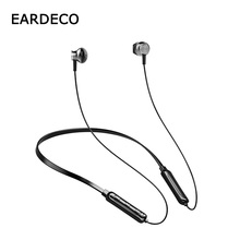 EARDECO Magnetic Bluetooth Earphone Headphone Stereo Wireless Earphones Headphones Sport Bass Headset With Mic For Phone все цены