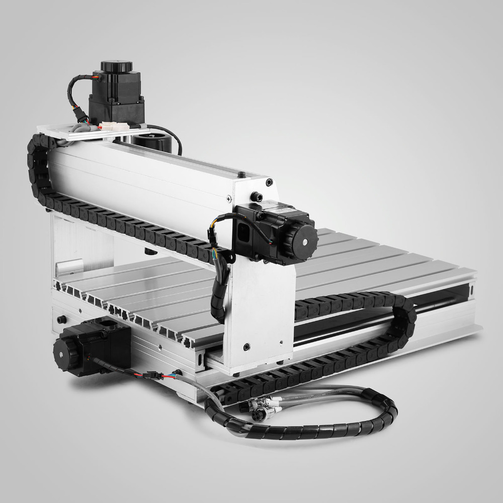 Зарубежные склады CNC Настольный гравер 3040T USB порт маршрутизатор машина лазерный гравер сверлильный и фрезерный станок