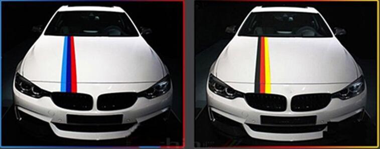 1 Mt auto aufkleber streifen modellierung drei farben for Toyota Corolla Avensis Rav4 Yaris Auris Camry Prius Hilux Verso access