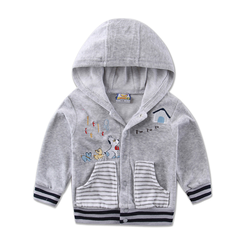 Special Section Children Clothing Summer And Autumn Long Sleeve Hooded Boys And Girls Button Jacket 2019 Little Q Fashion Clothes Ideal Gift For All Occasions Girls' Clothing Jackets & Coats