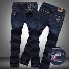 kenty shark 2017 embroidery jeans for men high quality blue color jeans men brand design denim shark biker jeans men pants TJ07