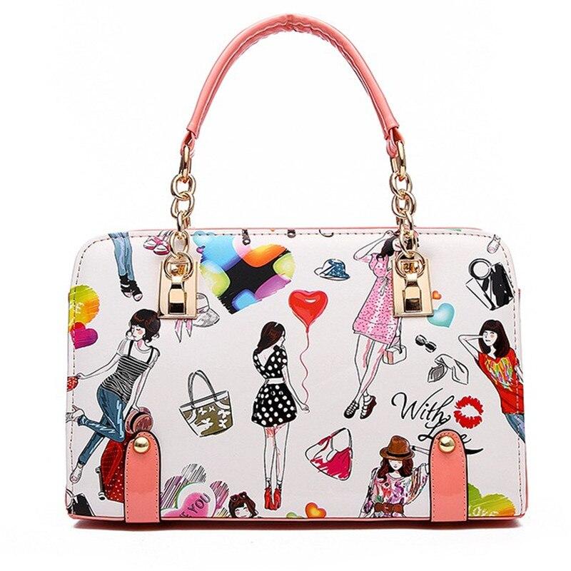 ФОТО New fashion PU women handbags european and american style women messenger bags selling large capacity women bag S178