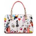 New fashion PU women handbags european and american style women messenger bags selling large capacity women bag S178